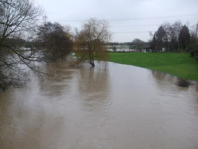 River Derwent Floods at Kexby
