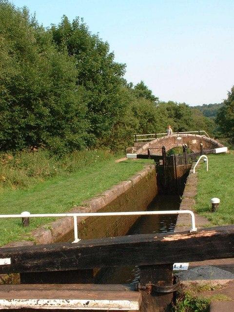 Caldon Canal lock
