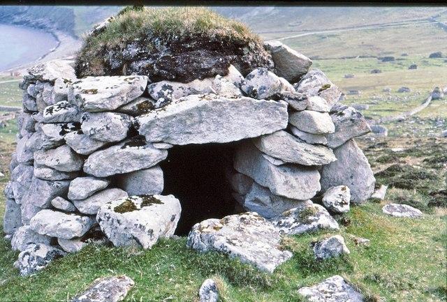 A St Kildan Cleit above Village Bay