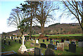 SJ5153 : Graveyard of Holy Trinity Church, Bickerton by Espresso Addict