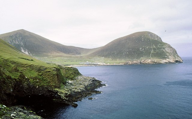 A nor'east view from Ruaival across Village Bay