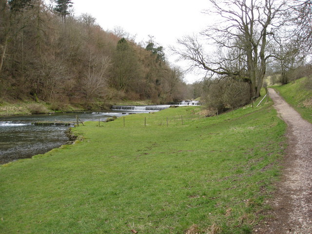 River Lathkill Weirs above Conksbury Bridge