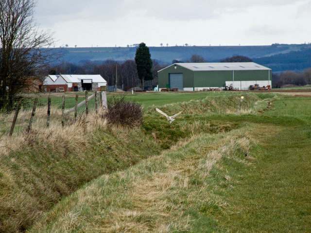 Footpath From Field Head towards Carberry Hall Farm
