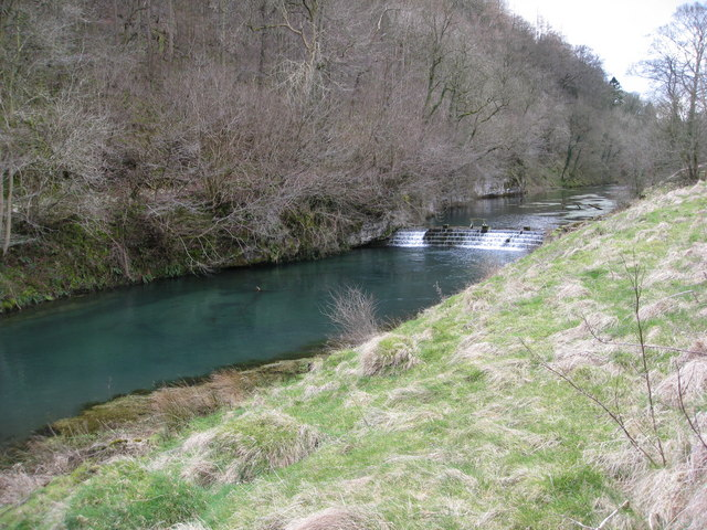 River Lathkill Weirs below Over Haddon
