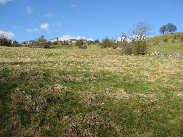 Over Haddon - View from River Lathkill Footpath