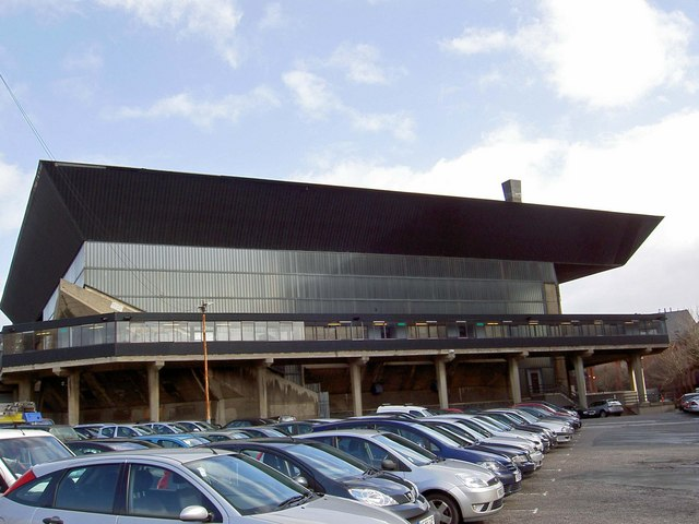 The now closed Leeds International swimming pool