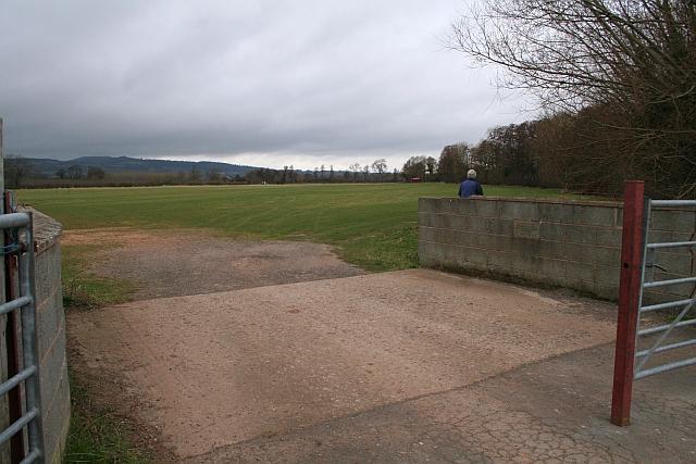 Bridge onto the Playing Fields