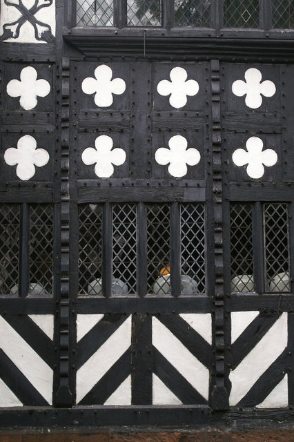 Speke Hall close-up