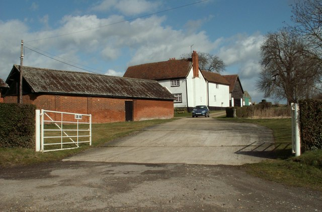 A view of Elms Farm from Ongar Road