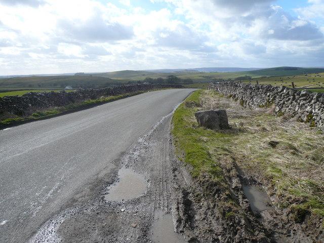 Long Rake - View towards A515 and Parsley Hay