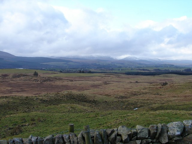 View from Nether Dullarg