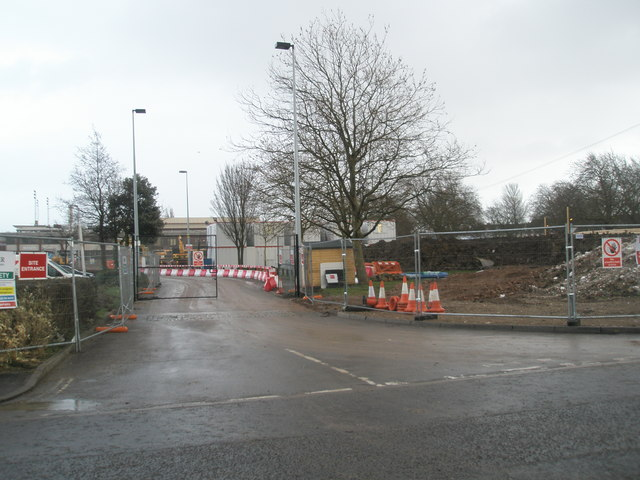 Building site at the Mountbatten Centre