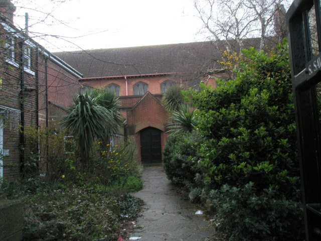 Entrance to St Saviour's