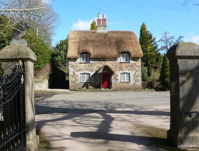 Ashwell Lodge opposite Ugbrooke House