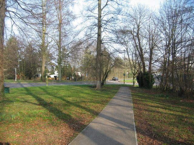 Footpath by Pack Lane