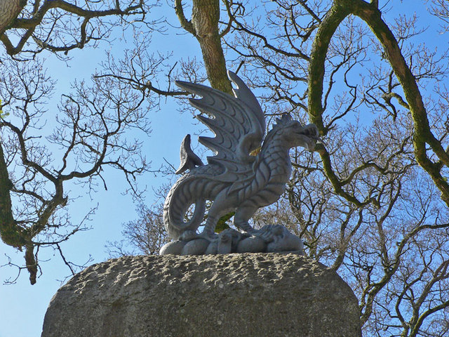 Dragon at Ugbrooke