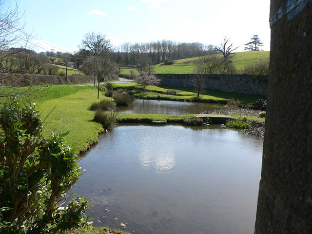 Ponds on Ugbrooke Estate
