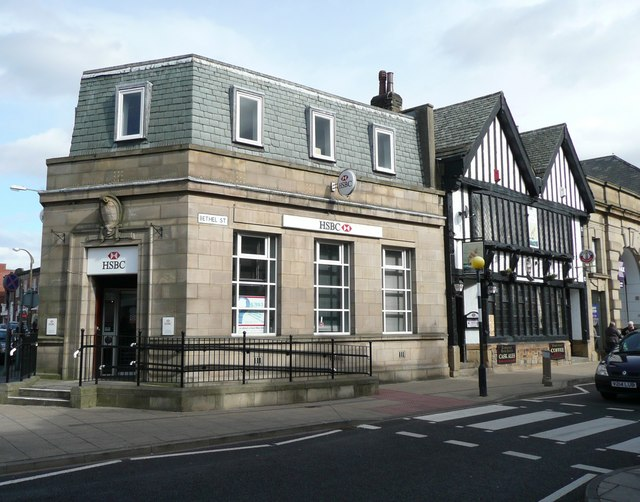 HSBC Bank, Bethel Street, Brighouse