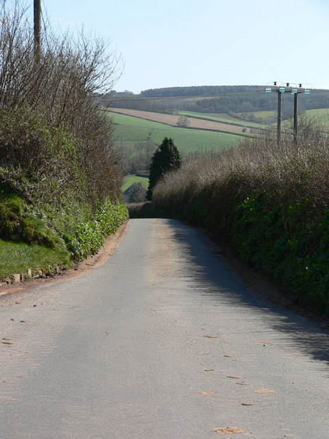 Downhill to Ideford