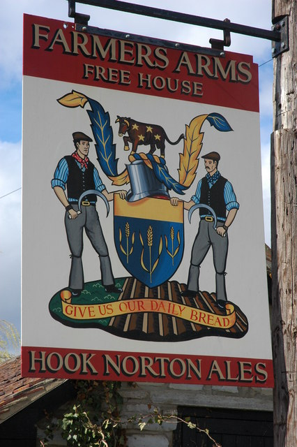 Farmers Arms pub sign