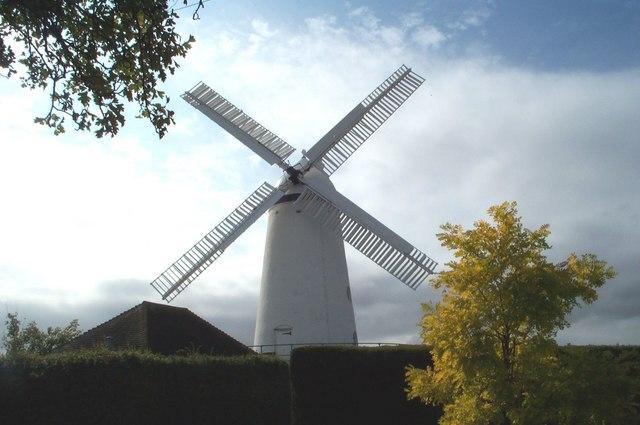 Stone Cross Windmill. Midday September 07