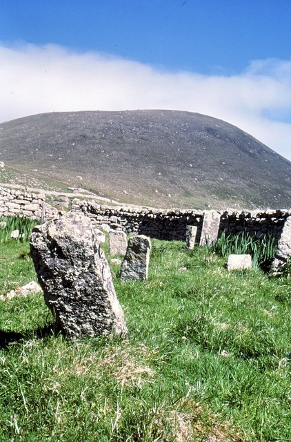 Graveyard in the shadow of Oiseval