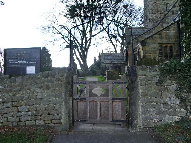 The Parish Church of St Oswald, Leathley, Gate