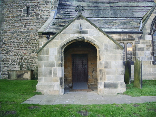 The Parish Church of St Oswald, Leathley, Porch