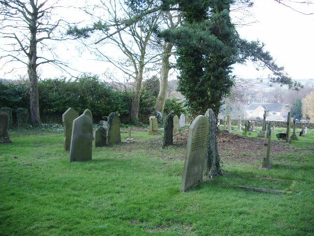 The Parish Church of St Oswald, Leathley, Graveyard