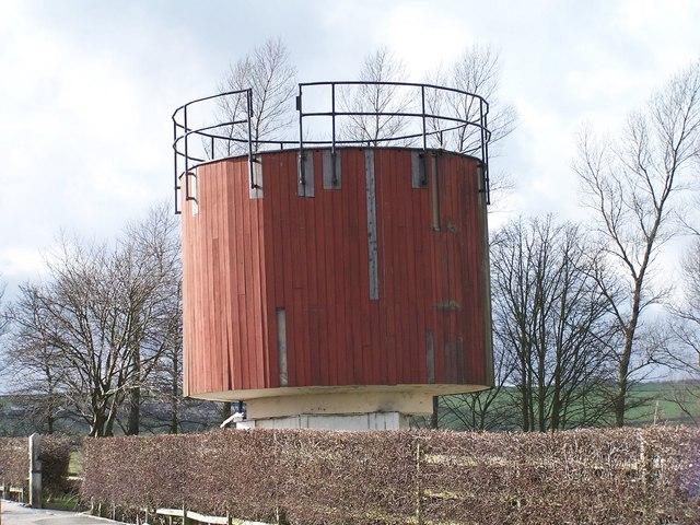 Water Tower outside Bradfield School