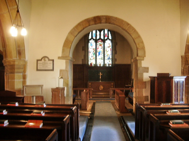 The Parish Church of St Oswald, Leathley, Interior