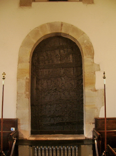 The Parish Church of St Oswald, Leathley, Doorway