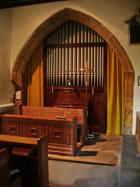 The Parish Church of St Oswald, Leathley, Organ