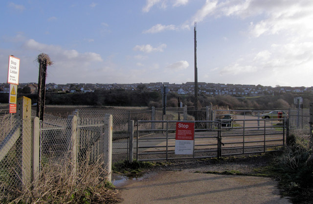 Level Crossing at Tide Mills