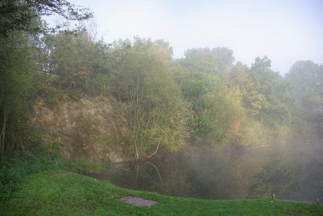 The old Quarry at Ebury Hill