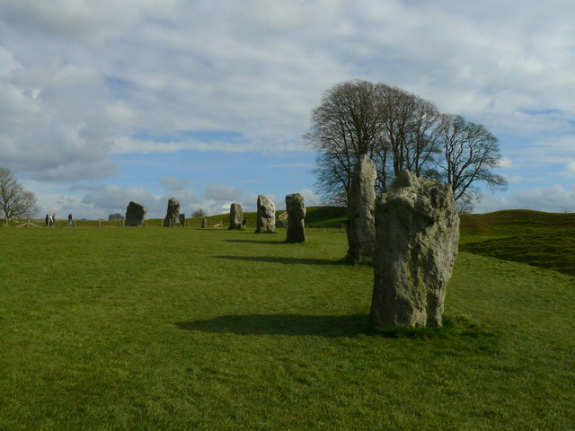 Avebury - A View Across The Ring
