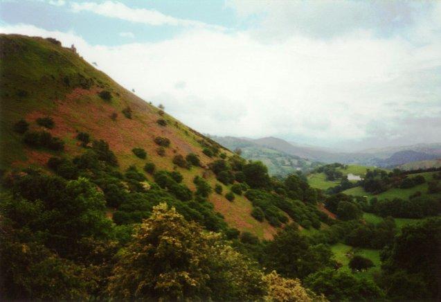 Below Creigiau Eglwyseg