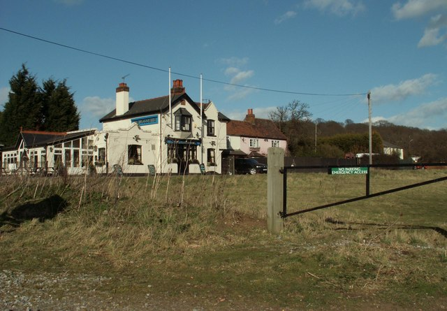 'The Woodbine' public house