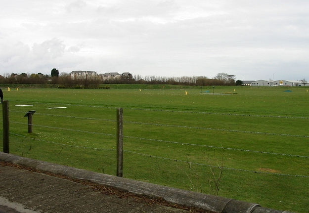 Driving range at Manston golf course