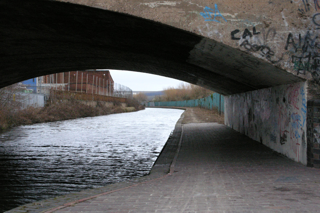 Tow path and bridge