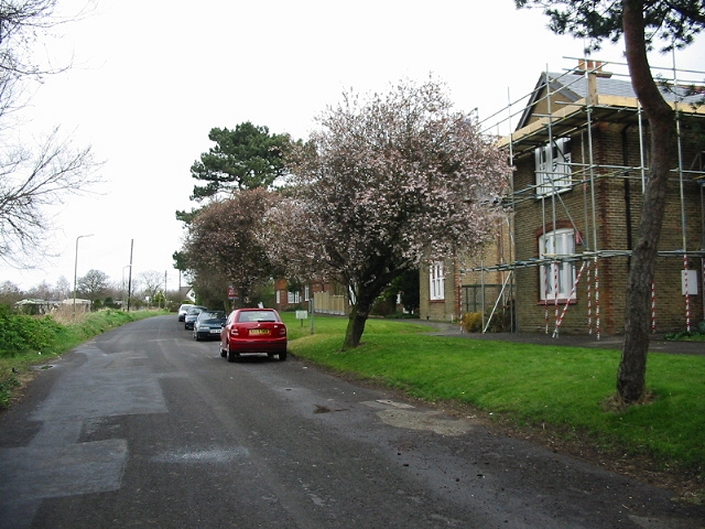 View along Preston Road, Manston