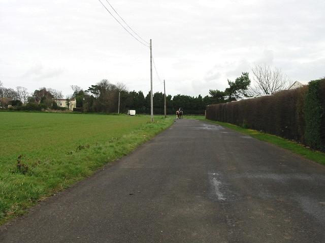 View along Preston Road