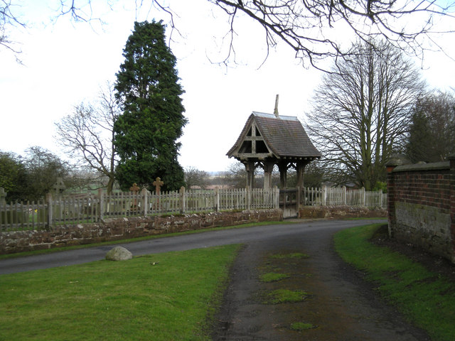 Lych Gate at Stockton