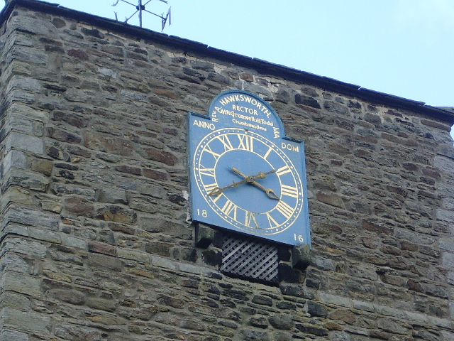 The Parish Church of St Oswald, Leathley, Clock