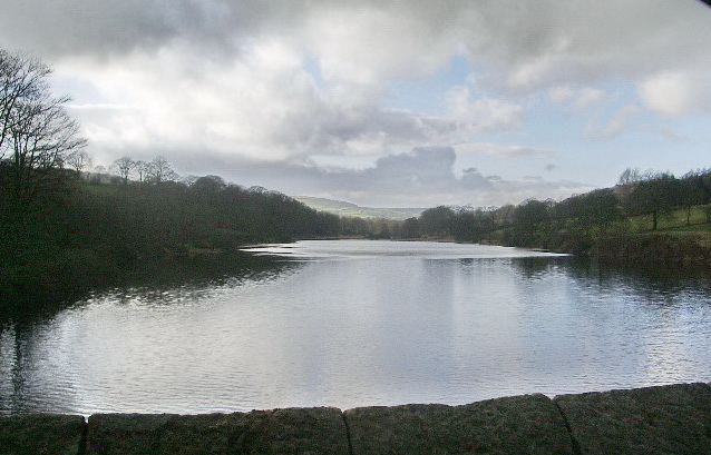 Northern part of Lindley Wood Reservoir