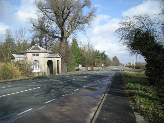 A lodge on Watling Street