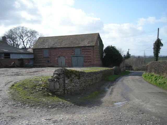 Farm buildings at Lower Dryton