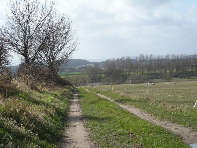Farm track to the River Severn