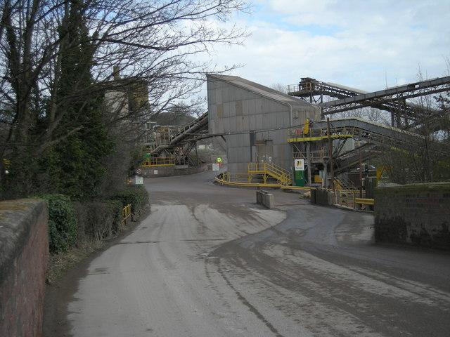 Bayston Hill Quarry