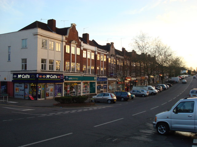 Parade of shops, Windsor Drive, Chelsfield